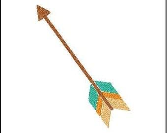 single arrow embroidery design  arrow embroidery design arrow embroidery addon filled arrow embroidery design multicolor arrow