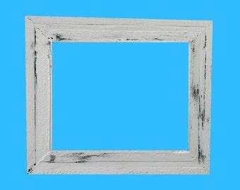 reclaimed wood framespicture framesrustic cottage chic beach - Wood Frames
