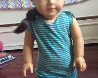 BTS SALE!! American Girl Doll Striped Dress