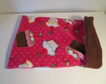 Cupcake Pet Snuggle/Burrow Bag for Dogs, Puppies, Cat, Kittens, Ferret, Small Animals