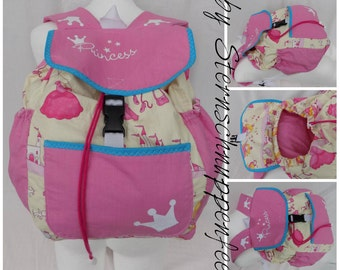 "Kids backpack ""Princess"""