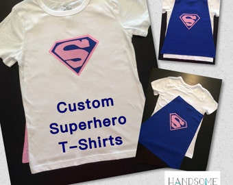 Superhero T-Shirt with Cape