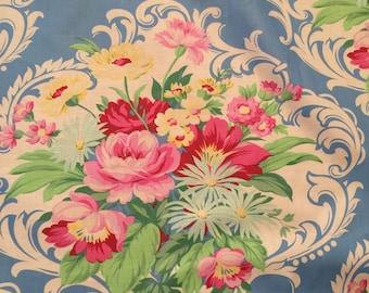 10 yards Fabric Jennifer Paganelli Floral Nicole Fabric Mod Girls Sis Boom Free Spirit Scroll