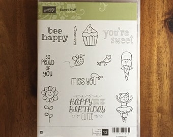 Stampin' UP! Sweet Stuff - FREE SHIPPING!