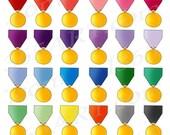 50% OFF SALE Gold Medal C...