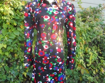 Size Large Printed Day Dress