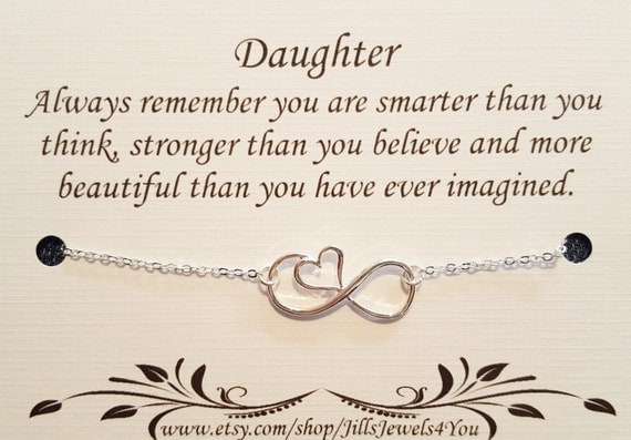 Daughter Quote Inspirational Gift For Daughter Birthday: Daughter Necklace To Daughter From Mom Daughter