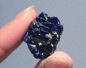 Azurite Crystallized Rosette High Quality Cluster Mini Thumbnail Specimen Russia