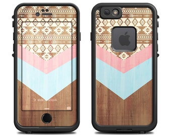 Skin for LifeProof iPhone Case - Native by Brooke Boothe - Sticker Decal - 7, 6/6S, Plus, 5/5S/SE, 5C, 4/4S, Fre, Nuud