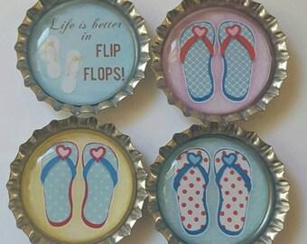 Flip Flop Magnets  Flip Flop GIft