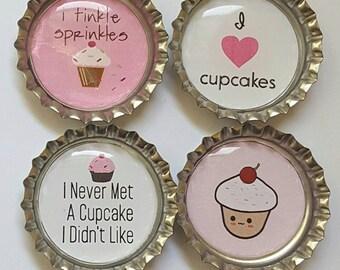 Cupcake Magnets Cupcake GIft
