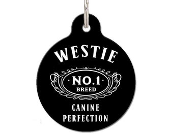 Westie Breed Dog ID Tag | FREE Personalization