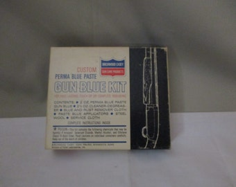 Vintage Birchwood Casey Gun Blue Kit