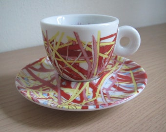 Illy Collection Espresso Cup 1996 James Rosenquist