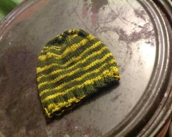 Toddler cap/hat knitting