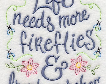 Firefly Embroidery Etsy