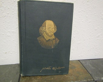 Antique 1900 The WORKS of WILLIAM SHAKESPEARE ; Globe edition edited by W. C. Clark & W. A. Wright