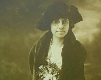 Vintage Photograph, Vintage Photo, Vintage Photography, Ephemera, Portrait Photo, Black and White Photo