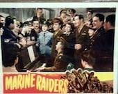 Lobby Card from the 1944 film Marine Raiders