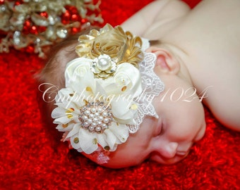 Christmas Headband/Baby Headband/Baby Headbands and Bow/Infant Headband/Baby Girl Headband/Girl Headband /Toddler Headband/Photo Prop Baby