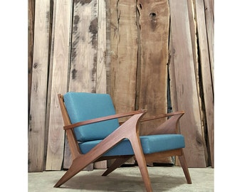 Z Lounger | Lounge Chair | Mid Century Modern Chair