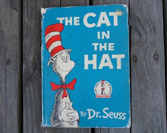 The Cat in the Hat by Dr. Seuss Book 1957