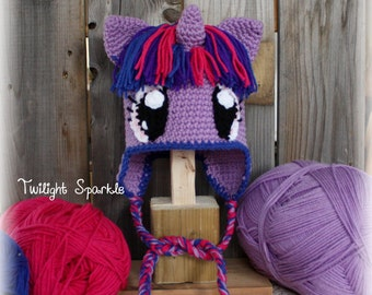 "Hat inspired ""Twilight Sparkle"""