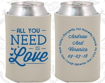 Sandstone Wedding, Can Coolers, Sandstone Wedding Favors, Sandstone Wedding Gift, Sandstone Wedding Ideas (419)