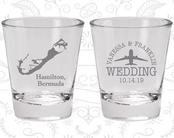 Bermuda Shot Glass, Bermuda Shot Glasses, Bermuda Glass, Bermuda Glasses, Bermuda Glassware (163)