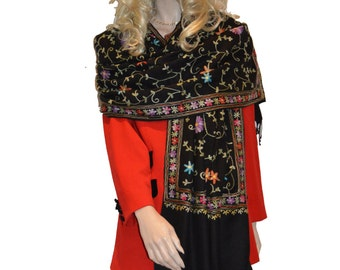 Scarf/Scarves/Shawl/Shawls/Embroidery Shawl from Cashmere Pashmina Group (13)