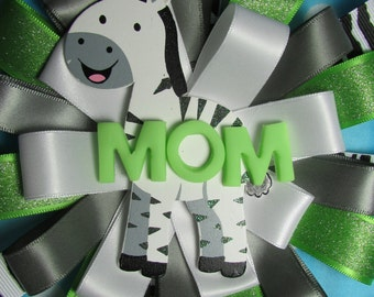 Zebra baby shower corsage-Clearance Closeout