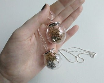 NECKLACE l 'Pyrite Terrarium'