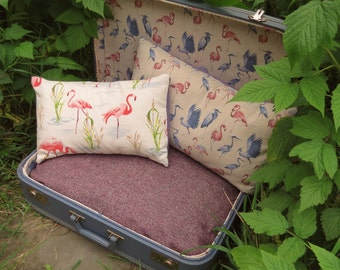 A quirky pet bed, made from a vintage 1970s suitcase.   Dog bed.  Cat bed.  For pets with a taste for vintage...