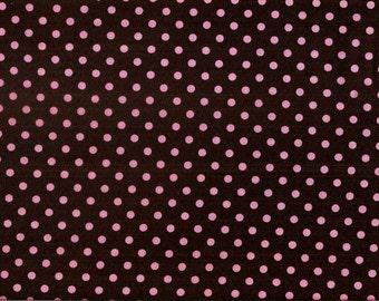 Michael Miller Fabrics - Dumb Dot Coco - CX2490-COCO-D