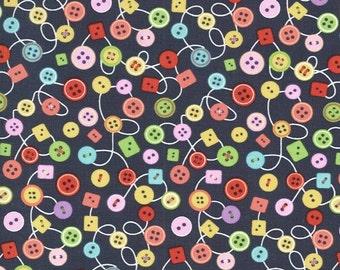 Michael Miller - Bouncy Buttons - #CX6702 - GRAY - D