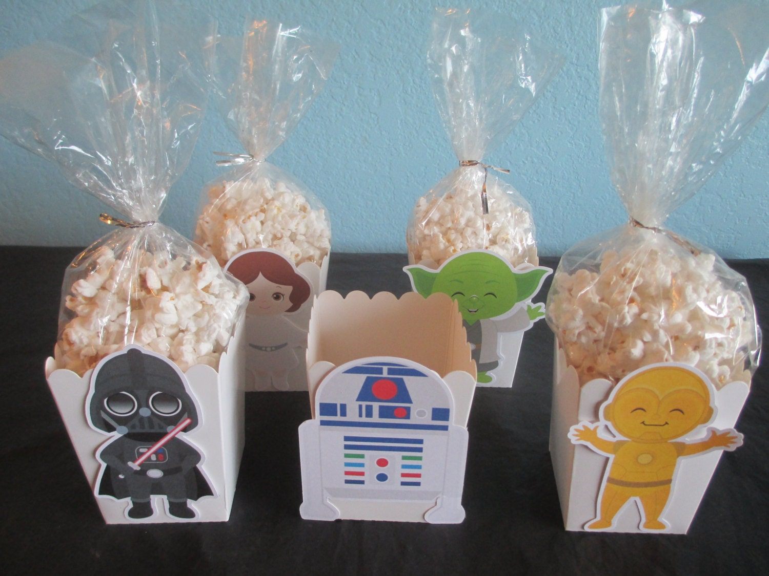 star wars popcorn boxes20star wars favor boxesstar wars decoration - Star Wars Decorations