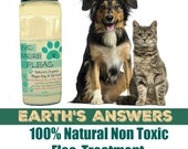 No More Fleas All Natural Organic Blend for Cats, Kittens, Dogs or Puppies 14 oz