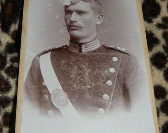picture cdv  Imperial Soldier pHOTO