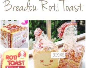 RARE Beadou Roti Toast Squishy