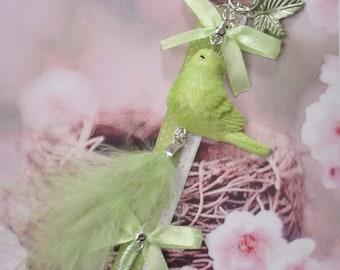 jewelry bag bird