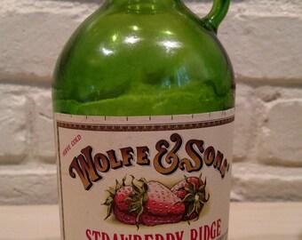 Vintage Wine Jug