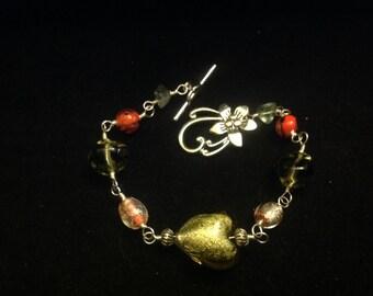 Glass Wrap Bracelet