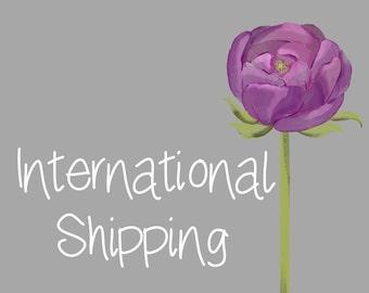 International Shipping add on