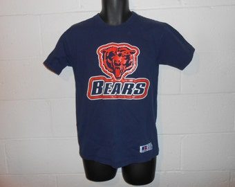 Vintage 90s Chicago Bears T-Shirt Sz Youth XL (Fits Adult S)
