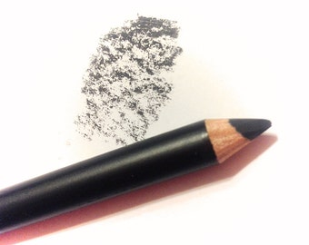 SMOKEY Mineral EYE LINER Pencil - Natural Sunflower Seed & Coconut Oil Based - Gluten Free Eyeliner