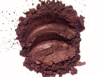 PLUM WINE Mineral Eye Shadow - Natural Makeup - Gluten Free Vegan Face Color
