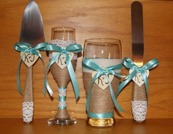 rustic wedding cake serving set rustic wedding cake serving set champagne flute and glass 19557