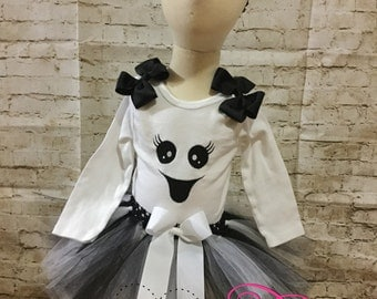 Ghost tutu outfit/halloween coatume
