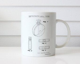 Perfume Jar Mug, Perfume Jar Patent, Perfume Jar Mug, Perfume Jar Mug, Perfume Jar Decor, Perfume Jar Blueprint PP0630