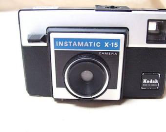 Vintage Kodak Instamatic  X-15F Camera Made in USA